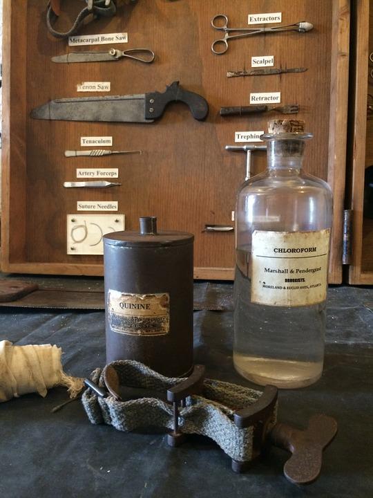 antik medicin fältskär